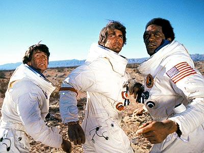 Capricorn One, James Brolin, ... | Not long after the initial allegations that the Apollo Moon landings were a sham — there's always a dissenter in the crowd, isn't there? —…