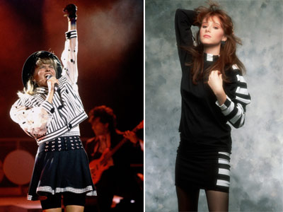 Tiffany, Deborah Gibson | Pop princesses Debbie Gibson and Tiffany were the faces of electric youth in the '80s — and their suburban Valley Girl ensembles became a look…
