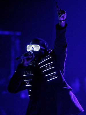 Kanye West | A dedicated follower of both luxury brands and avant-garde outsiders, West inspired a thousand admirers in odd sunglasses.