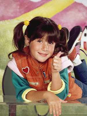 Soleil Moon Frye, Punky Brewster | Like a T.G.I. Friday's Employee of the Month, she loved her flair, and got others to embrace the many colors of the rainbow.