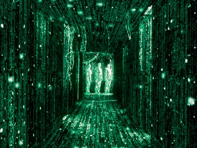 The Matrix | What if everything we see around us is actually an elaborate illusion created by the evil machines who have enslaved us all in creepy goo…