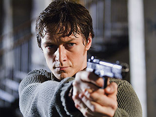James McAvoy, Wanted