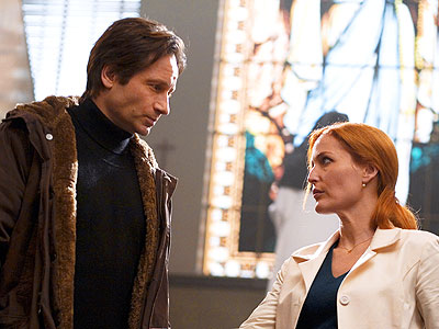 The X-Files: I Want to Believe, David Duchovny, ... | The television series was built on the warning to ''Trust No One.'' Millions of viewers tuned in to whisper at home about the extraterrestrial conspiracies…