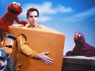 Ben Stiller, Sesame Street | BEN STILLER He's never afraid to appear cheesy, and that's why we love him. Stiller sang ''The People in Your Neighborhood'' with Telly. He met…