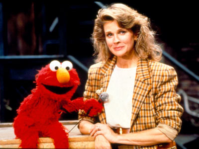Candice Bergen, Sesame Street | CANDICE BERGEN The Murphy Brown star gets the tables turned on her when Elmo plays the interviewer. See Bergen make a sad face and find…
