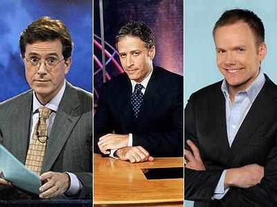 Joel McHale, Jon Stewart, ...