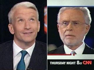 Wolf Blitzer, Anderson Cooper