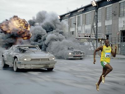 Usain Bolt, Death Race