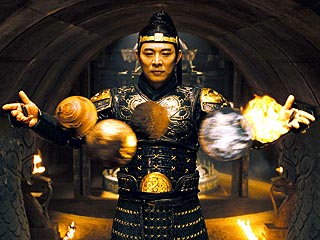 Jet Li, The Mummy: The Tomb of the Dragon Emperor