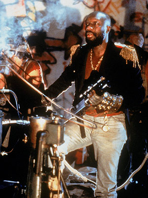 Escape From New York, Isaac Hayes