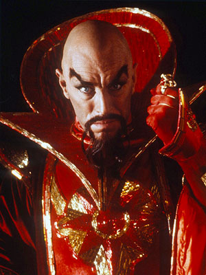 Max von Sydow | Max Von Sydow Flash Gordon (1980) Emperor Ming the Merciless (Max Von Sydow) has rocket ships, death rays, robots, a harem, and some of the…