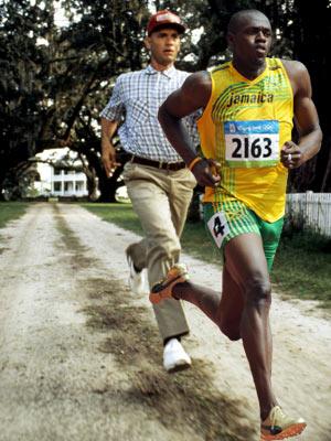 Tom Hanks, Usain Bolt, ...