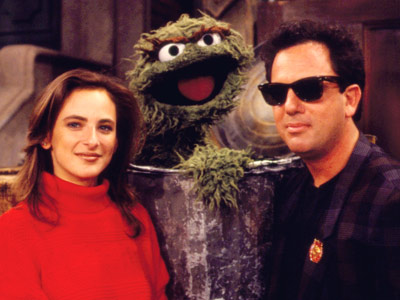 Billy Joel, Marlee Matlin, ... | BILLY JOEL AND MARLEE MATLIN The two serenade Oscar with ''Just the Way You Are.'' ''Just be grouchy/You've done it pretty well so far.'' With…