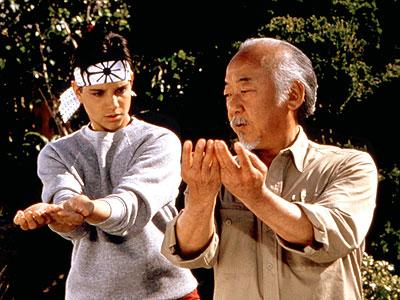 Pat Morita, The Karate Kid