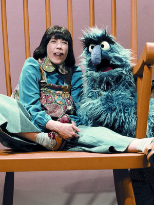 Lily Tomlin, Sesame Street | LILY TOMLIN Who can't look at an oversize chair without thinking of Tomlin's precocious character? ''My name is Edith Ann and I can count to…