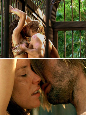 Lost   Well, here it goes: Kate and Sawyer on Lost ! That polar-bear-cage scene was not just steaming hot, it was so emotional and heartfelt. The…