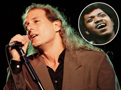 Michael Bolton, Percy Sledge | Let's not disregard the horrifying screech of Michael Bolton covering practically every song ever written. — Em Michael Bolton — ''When a Man Loves a…