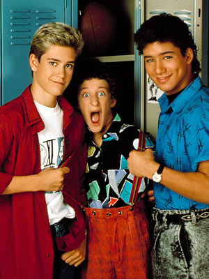 Mario Lopez, Dustin Diamond, ...
