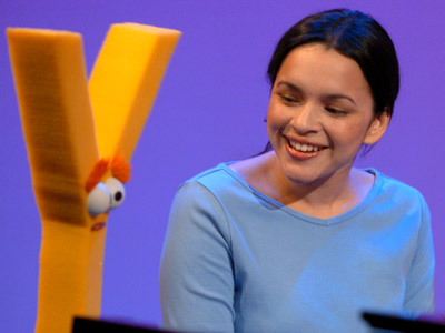 Norah Jones, Sesame Street | NORAH JONES Jones gets stood up by the letter of the day, so she sang ''Don't Know Y'' to Elmo at the piano. Without Y,…