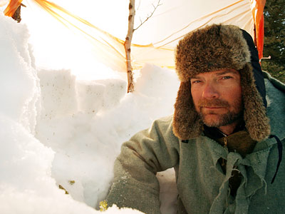 Les Stroud, Survivorman | SURVIVORMAN (Discovery Channel) / MAN VS. WILD (Discovery Channel) Survivorman 's Les Stroud (pictured) braves the world's harshest environments while narrating a running how-to survival…