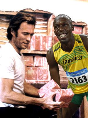 Usain Bolt, Clint Eastwood, ...