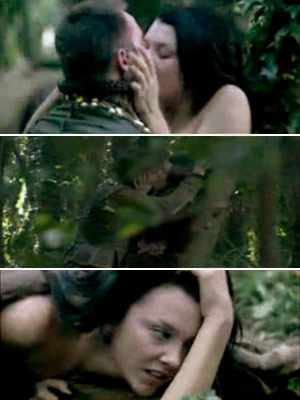 The Tudors   Um...any sex scene in The Tudors . Actually the one where Henry and Anne have sex for the first time in the forest, but she…