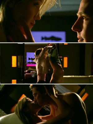 Veronica Mars   Logan and Hannah in season 2 of Veronica Mars . All he does is move toward unzipping her pants, but I had a great dream…