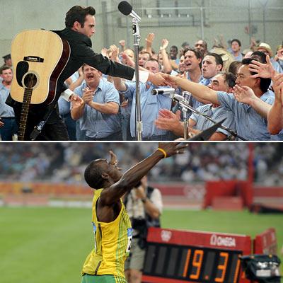 Usain Bolt, Joaquin Phoenix, ...