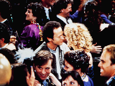 When Harry Met Sally, Billy Crystal, ... | Billy Crystal chases down Meg Ryan on New Year's Eve in When Harry Met Sally (1989).