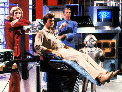 Erin Gray, Gil Gerard, ... | Astronaut Buck Rogers, frozen in 1987, returns to a postapocalyptic Earth 504 years later. But dig it: The show, which debuted in disco-tastic 1979, is…