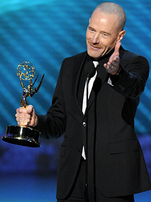 Bryan Cranston, Primetime Emmy Awards 2008 | The Best Actor in a Drama award could have gone to the long-overdue Hugh Laurie in House, or to Jon Hamm of AMC's newly crowned…