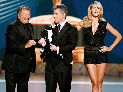 Primetime Emmy Awards 2008, Heidi Klum, ... | Remember just a few short months ago when the writers were on strike? Without writers, there'd be no quips like the classic lines of TV…
