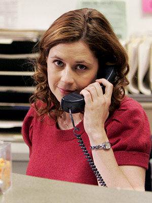 The Office, Jenna Fischer | (Votes received: 629; 4%) ''Pam Beesly Halpert, from The Office . Not only is she cute, but she has just the kind of personality I…