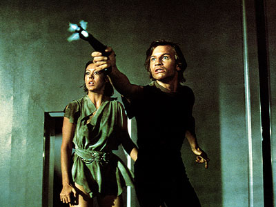 Logan's Run, Jenny Agutter, ... | Setting: The 23rd century Okay, so you won't live past age 30. Very sorry about that. But with a purdy leetle clock embedded in the…
