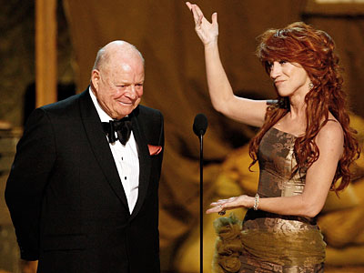 Don Rickles, Kathy Griffin, ... | ''GET UP!'' bellowed Kathy Griffin, shaming the audience into giving a standing ovation to her presenting partner, 82-year-old comedy legend Don Rickles. The two of…