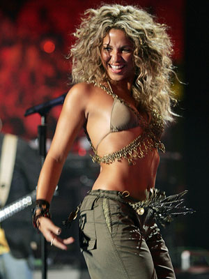 Shakira   The Good SHAKIRA (2005) The VMA stage has been home to many a scantily clad, writhing beauty, but Colombian cutie Shakira was the first to…