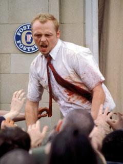 Shaun of the Dead, Simon Pegg