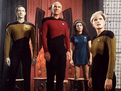 Star Trek: The Next Generation | Lightning is hard enough to bottle once, but twice? Just the same, Trek godfather Gene Roddenberry gave resurrecting Star Trek as a TV series a…