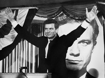 Cliff Robertson, The Best Man (Movie - 1964) | With Henry Fonda and Cliff Robertson. That movie showed how easily one person can sway an election and how dirty someone will go to win…