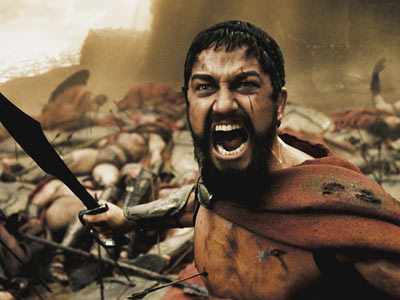 300 | 300 . I will never in my life watch the movie 300 . — Laura