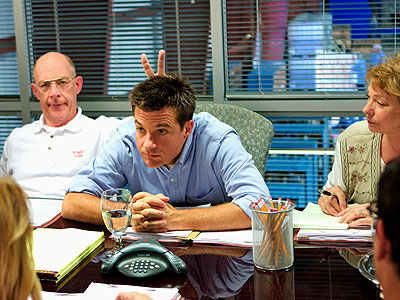 J.K. Simmons, Jason Bateman | Sept. 25, 2008 · Commerce, Calif. · 1:23 p.m. Photographs by Chris McPherson In Office Space director Mike Judge 's latest workplace comedy, Extract ,…