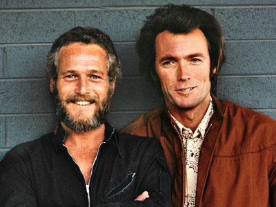 Paul Newman, Clint Eastwood