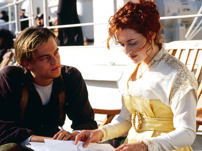 Titanic, Kate Winslet, ... | Class differences be damned! Rose and Jack found a love that not even the freezing cold of the Atlantic Ocean could stop. And we found…