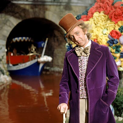 Willy Wonka and the Chocolate Factory, Gene Wilder | Once you get past the died-and-gone-to-heaven premise of spending a day inside a chocolate factory, the facts start to creep up on you: Willy Wonka…