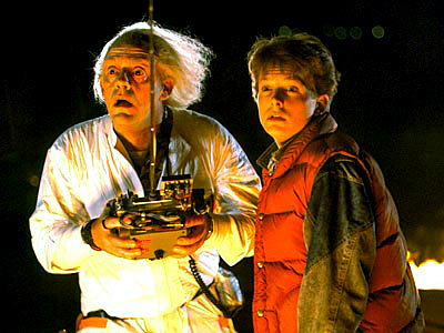 Back to the Future, Christopher Lloyd, ... | Back to the Future (1985), Back to the Future Part II (1989), Back to the Future Part III (1990) DEPARTURE COORDINATES: Hill Valley, Calif., 1985…