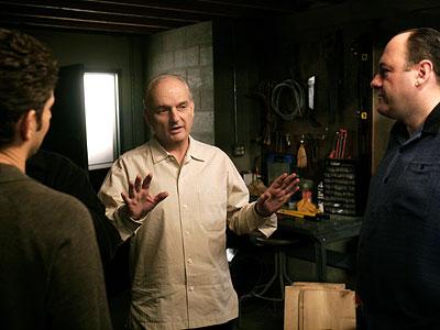 David Chase, James Gandolfini, ...