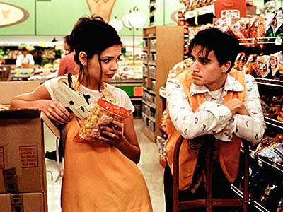Katie Holmes, Go (Movie - 1999) | There are still plenty of things you can buy on Christmas Eve: groceries, Ecstasy, pills from the grocery store that look like Ecstasy, champagne, Las…