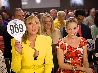 Kim Cattrall, Sarah Jessica Parker, ... | The HBO series' fashion fetishism translated so well to the big screen that the film earned $153 million at the box office — almost enough…