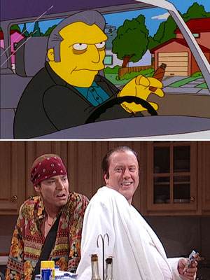 The Simpsons, The Sopranos, ...