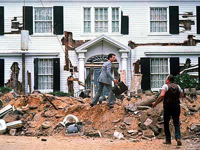 Tom Hanks, Philip Bosco, ... | Tom Hanks and Shelley Long buy a decaying old house on the cheap, then must spend a fortune making it livable. (Where's the Extreme Makeover:…